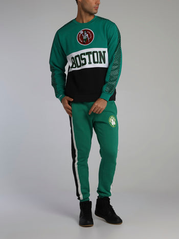 Boston Celtics Final Seconds Green Fleece Pants