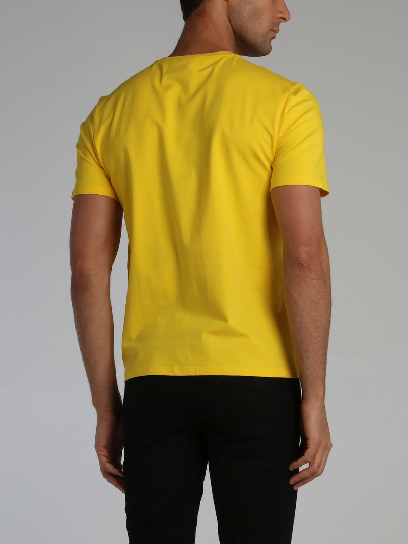 Yellow Collage Type T-Shirt