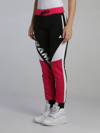 Pyramid Raceway Colour Block Track Pants