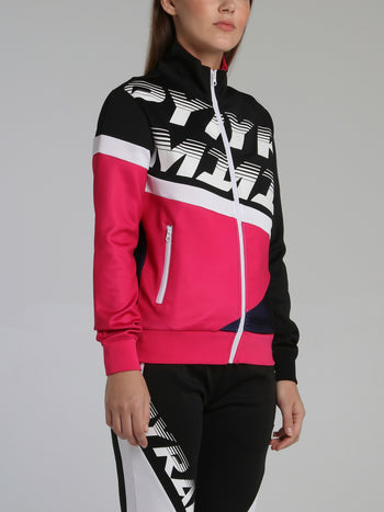 Pyramid Raceway Colour Block Track Jacket