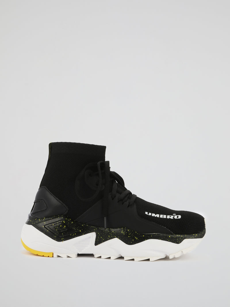 Black Runner Future Sock Sneakers