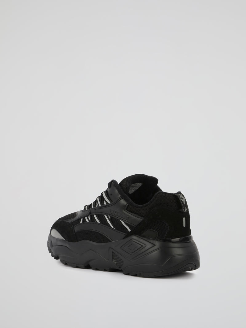 Black Neptune Chunky Sole Sneakers