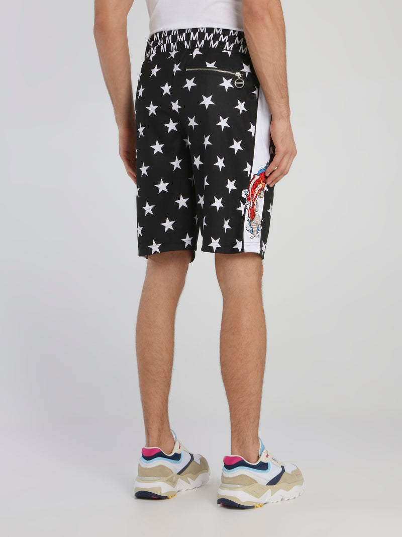 Stars And Carp Bermuda Shorts