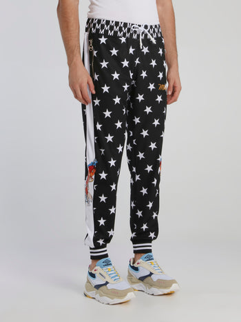 Stars and Carp Cotton Track Pants