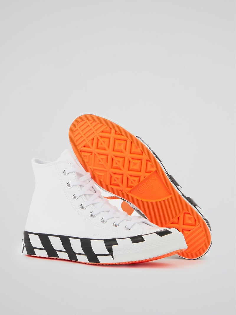 Off-White x Converse All-Star Chuck 70 High Top Sneakers