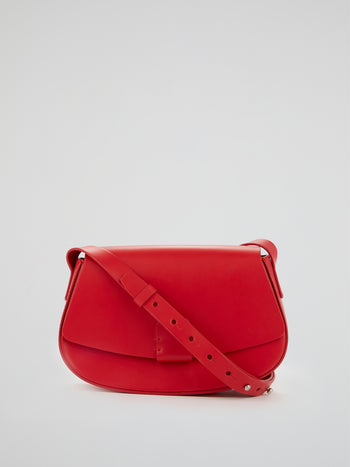 Lobivia Red Mini Crossbody Bag