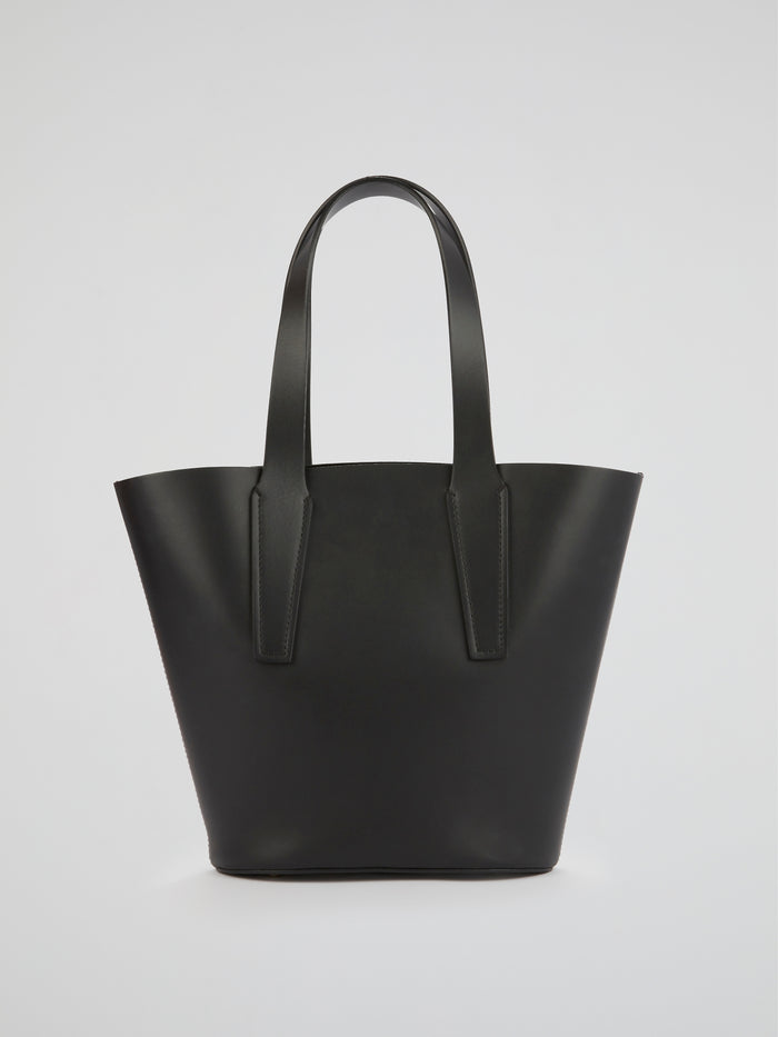 Nelia Black Mini Tote Bag