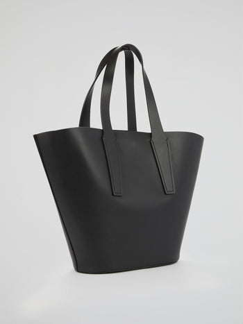 Nelia Black Tote Bag