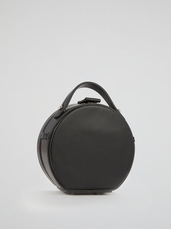 Tunilla Black Mini Leather Handbag