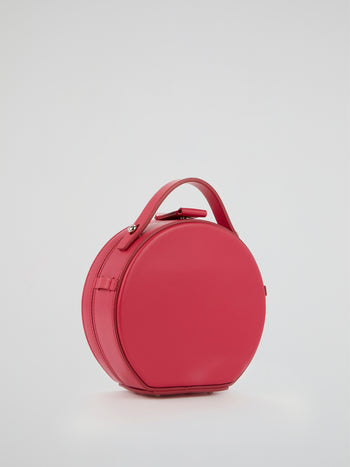 Tunilla Fuchsia Mini Leather Handbag