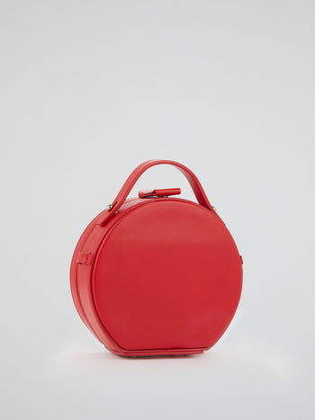 Tunilla Red Mini Leather Handbag