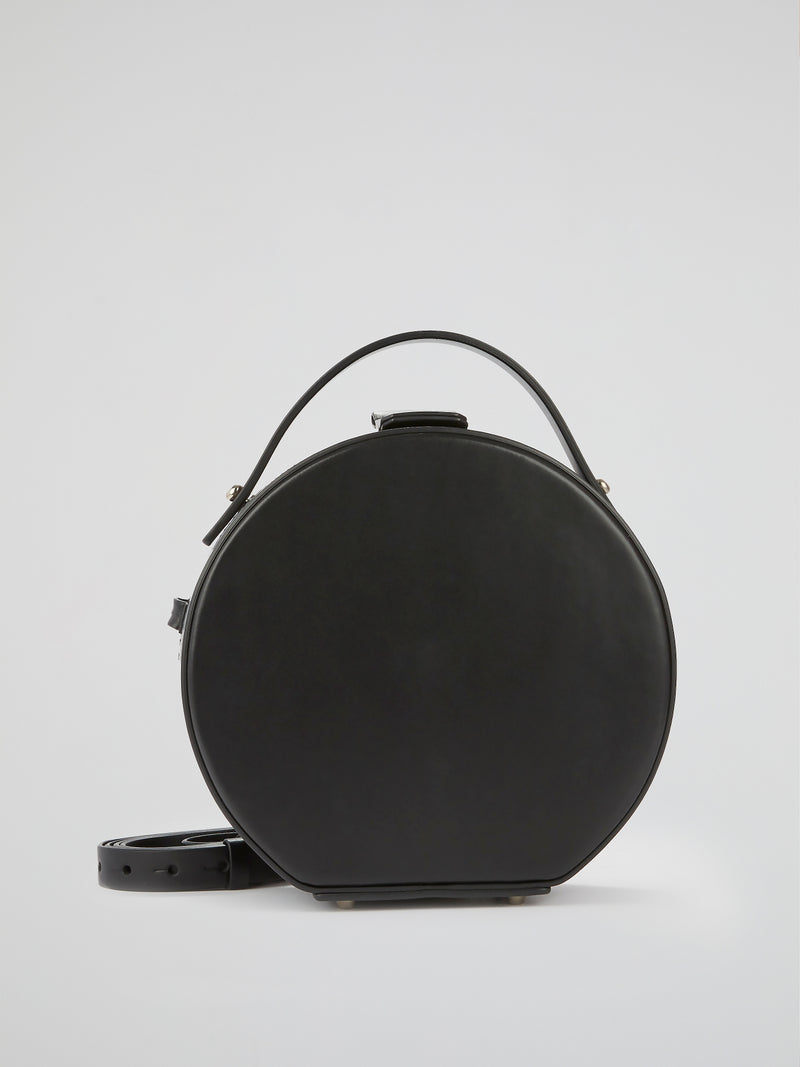Tunilla Black Leather Handbag