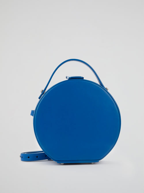Tunilla Blue Leather Handbag