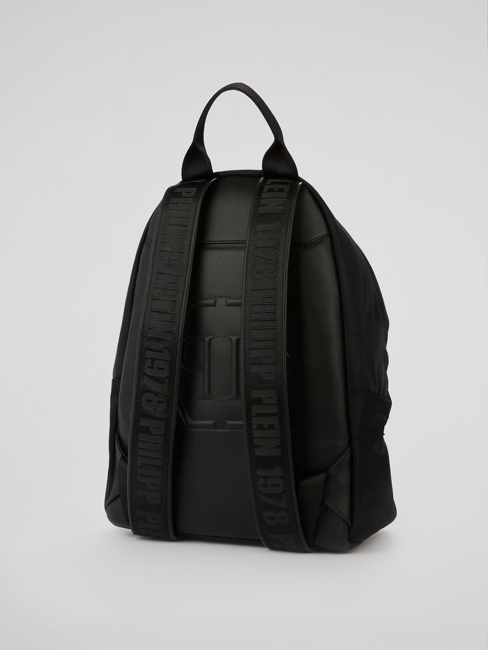 PP1978 Black Spike Studded Backpack