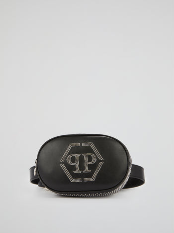 Black Crystal Logo Fanny Pack