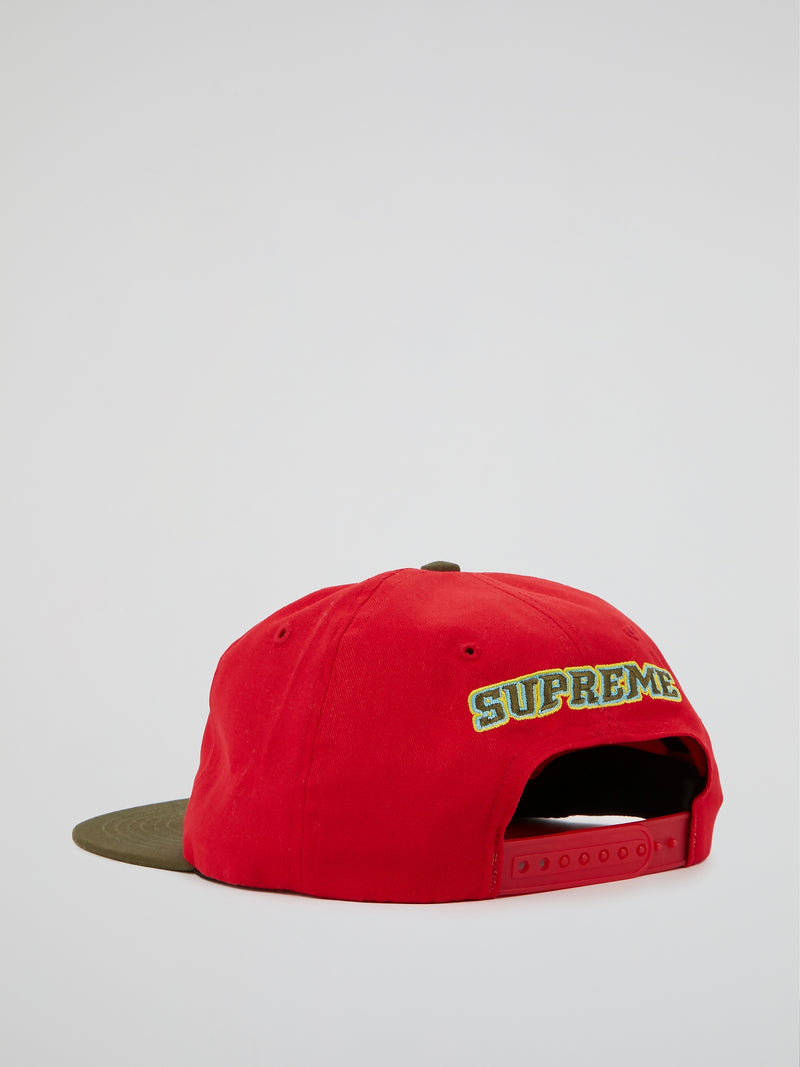 Red Pumpkin 6-Panel Cap