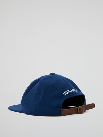 Blue Wool S Logo 6-Panel Cap