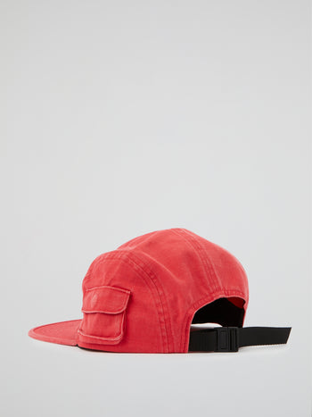 Red Snap Pocket Camp Cap