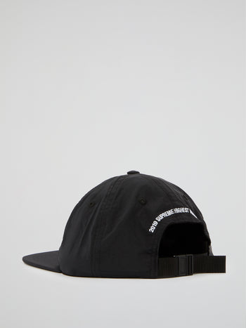Black Ascension Nylon 6-Panel Cap