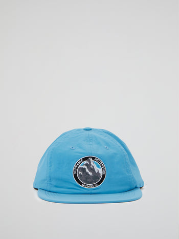 Blue Ascension Nylon 6-Panel Cap