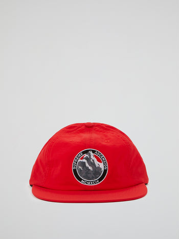 Red Ascension Nylon 6-Panel Cap