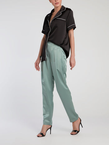 Mint High Rise Pegged Pants