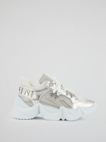 Runner Crystal Chunky Sole Sneakers