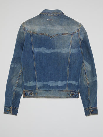 Blue Rustic Denim Jacket