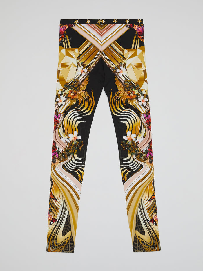 Butterfly Print Leggings