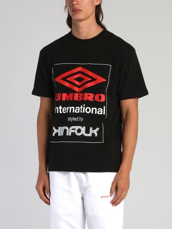 Kinfolk x Umbro Black Logo T-Shirt
