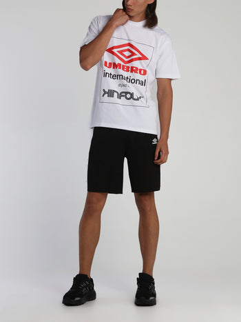 Kinfolk x Umbro White Logo T-Shirt