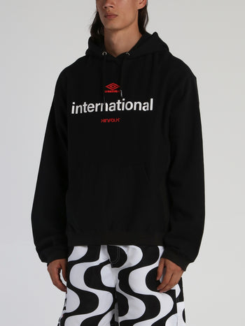 Kinfolk x Umbro Black International Hoodie