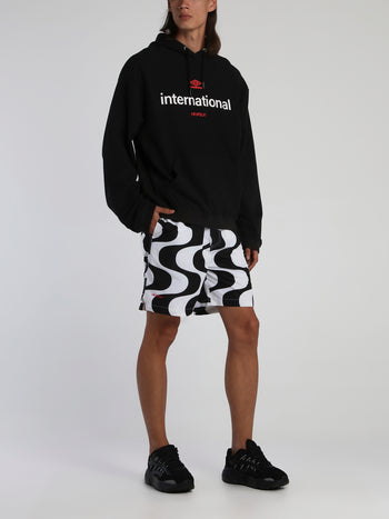 Kinfolk x Umbro Illusion Print Shorts