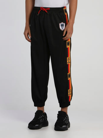 Black Germany Crest Track Trousers