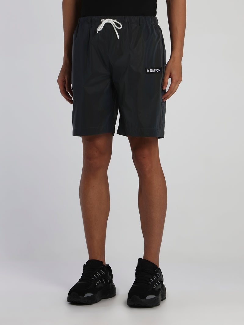 Rainbow Reflective 3M Active Shorts