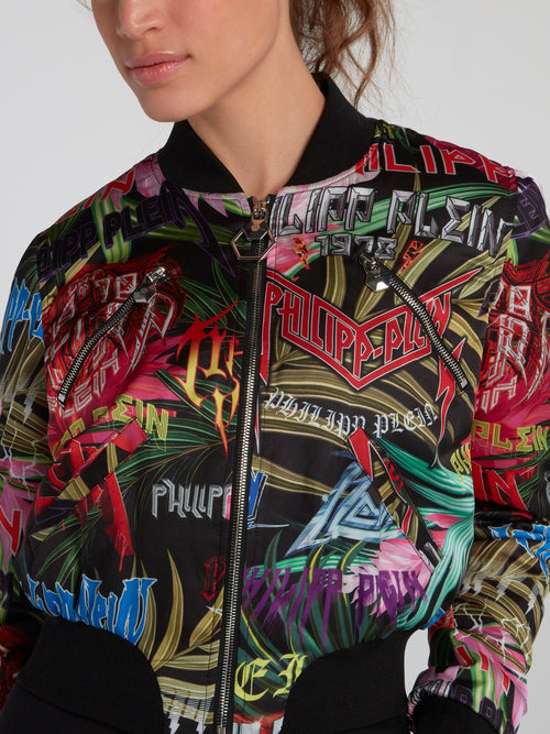 Jungle Rock Bomber Jacket