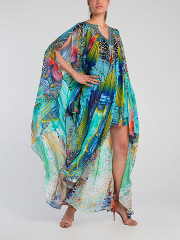 Long Angel Silk Butterfly Cape