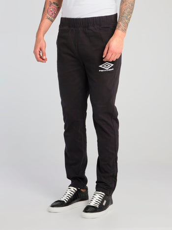 Pretty Green x Umbro Black Drill Pants