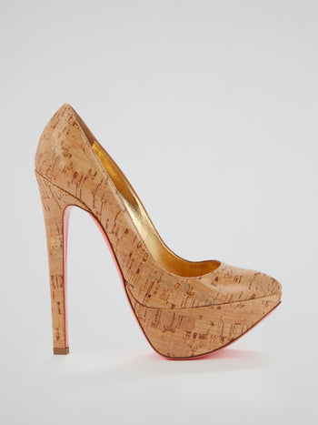 Avatar Cork Platform Pumps