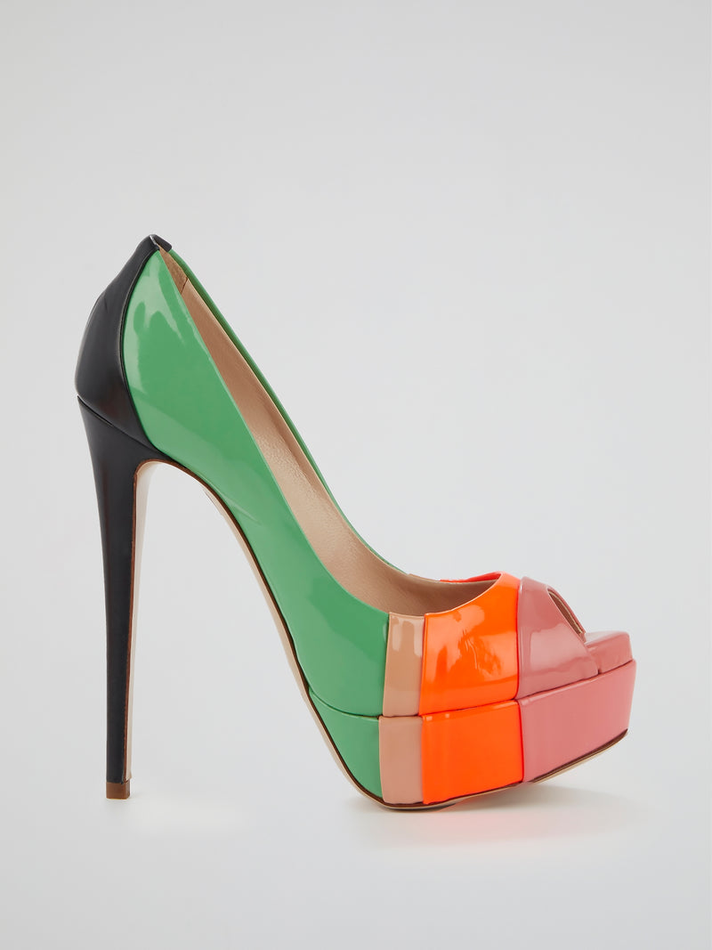 Delray Colour Block Stilettos