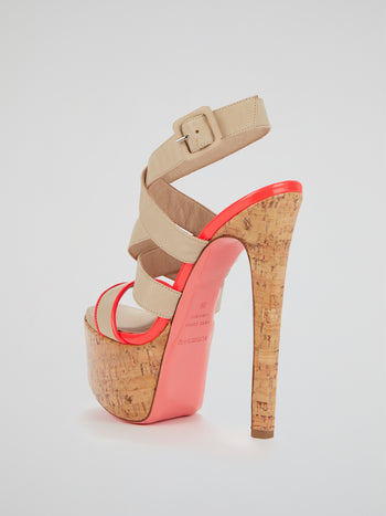 Highlin S12 Cork Platform Pumps