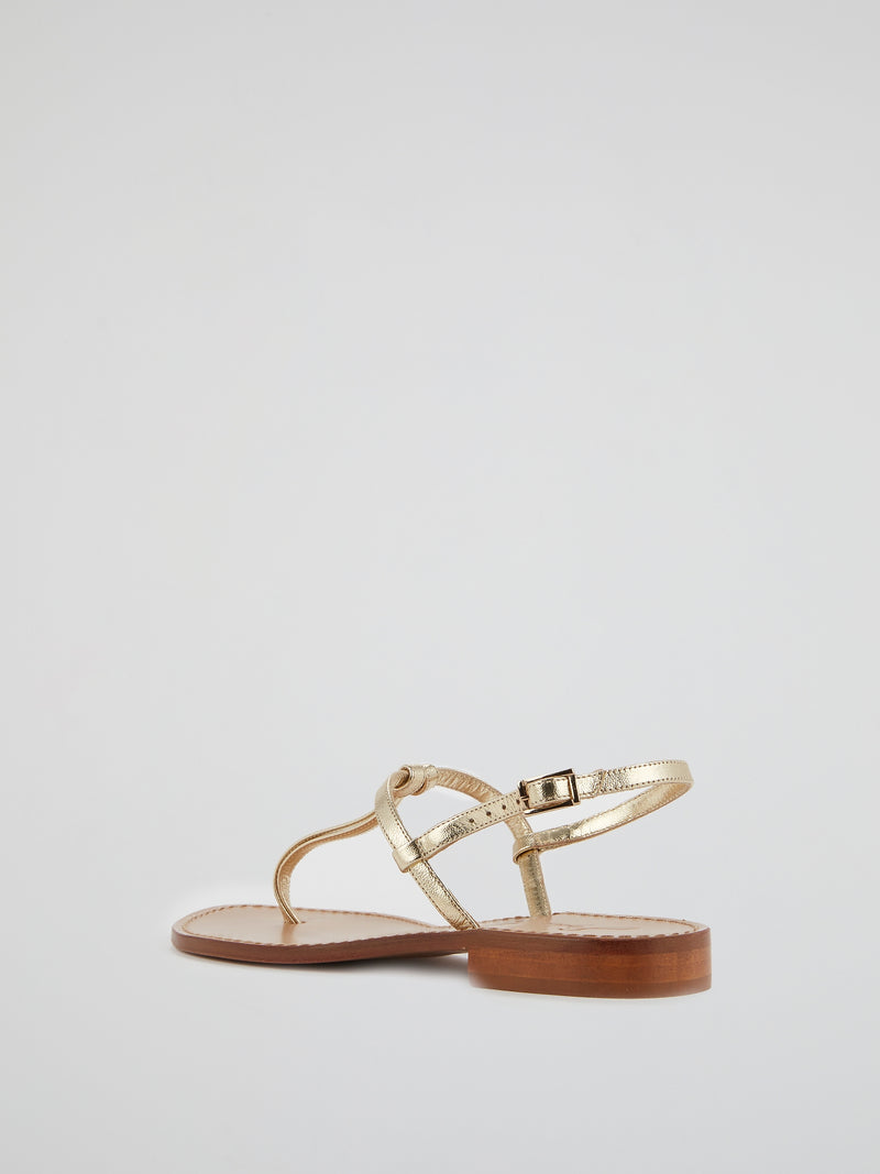 Elettra Thong Strap Sandals