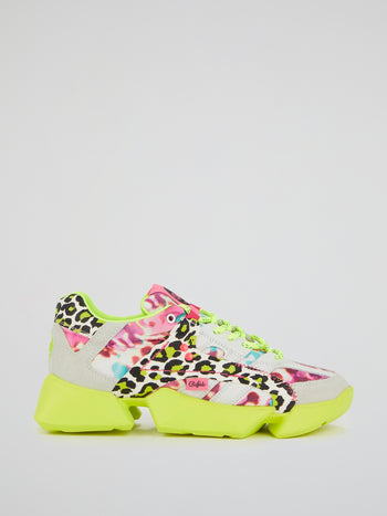 Mtrcs One Leopard Print Sneakers