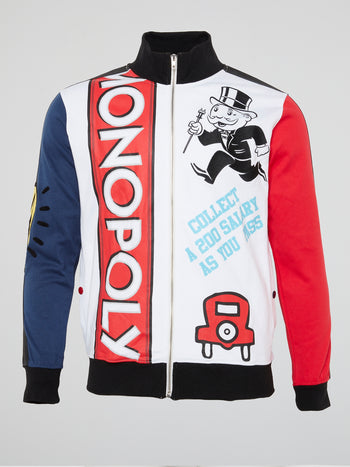Monopoly Colour Block Track Jacket