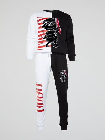 Cool Tommy Contrast Track Pants