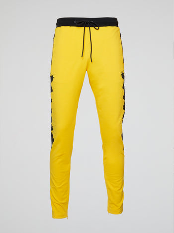 Graffiti Stripe Charlie Brown Track Pants