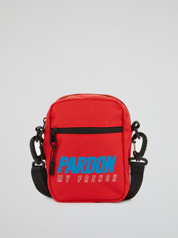 Red Logo Sling Bag