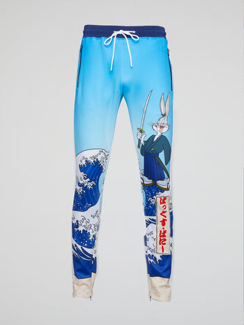 Japanese Bug Bunny Track Pants