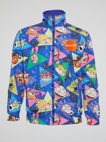 Nickelodeon Pop Heads High Neck Windbreaker