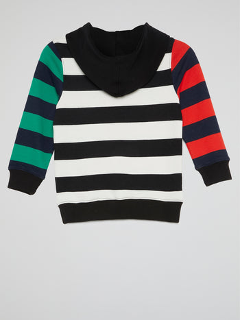 Monstars Colour Block Striped Hoodie (Kids)
